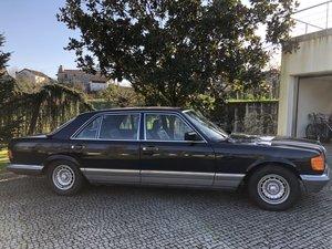 1983 Mercedes 500 SEL V8 231hp