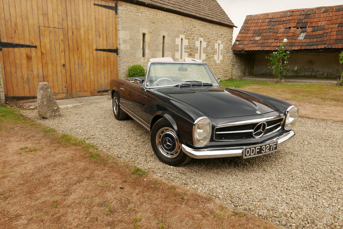 1968 Mercedes 280 SL Arrive in Style! SOLD (picture 2 of 6)