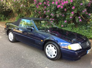 1995 Mercedes R129 SL500 low mileage with FSH For Sale
