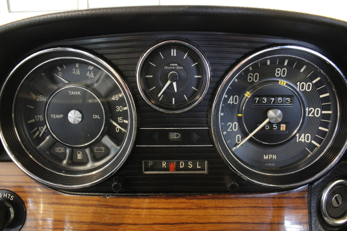 1974 Mercedes 280 / 8 Automatic - as new  SOLD (picture 6 of 6)