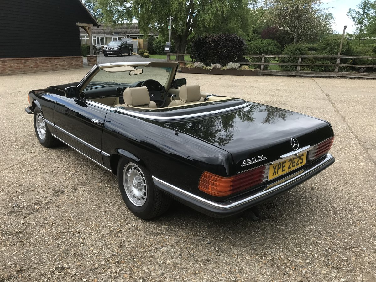 1978 Stunning Restored Mercedes SL450 V8 Immaculate For Sale (picture 4 of 6)