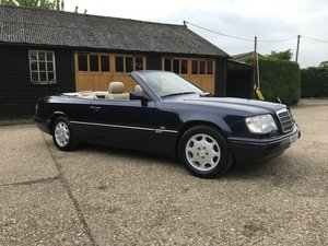 1995 Stunning Mercedes E320 Sportline Convertible W124 For Sale