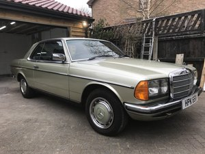 Stunning Mercedes 230c Pillar Less Coupe 1979 For Sale