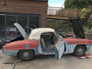 1956 Mercedes 190SL Rest project - Matching Numbers