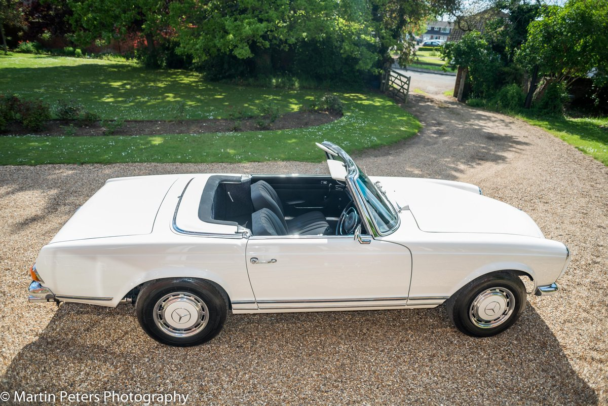 1970 Mercedes 280-SL Convertible  For Sale (picture 1 of 6)