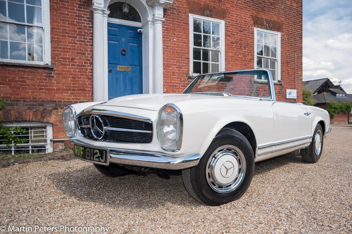 1970 Mercedes 280-SL Convertible  For Sale (picture 2 of 6)