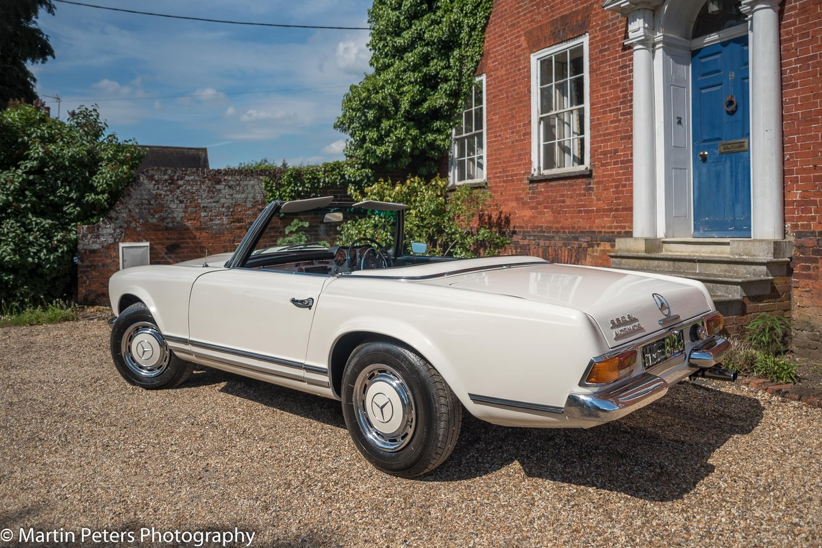 1970 Mercedes 280-SL Convertible  For Sale (picture 3 of 6)