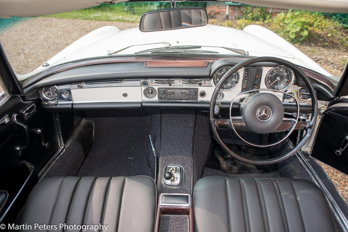 1970 Mercedes 280-SL Convertible  For Sale (picture 4 of 6)