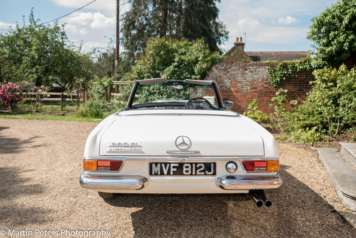 1970 Mercedes 280-SL Convertible  For Sale (picture 6 of 6)