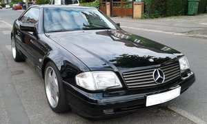 1996 Mercedes SL320 Convertible For Sale