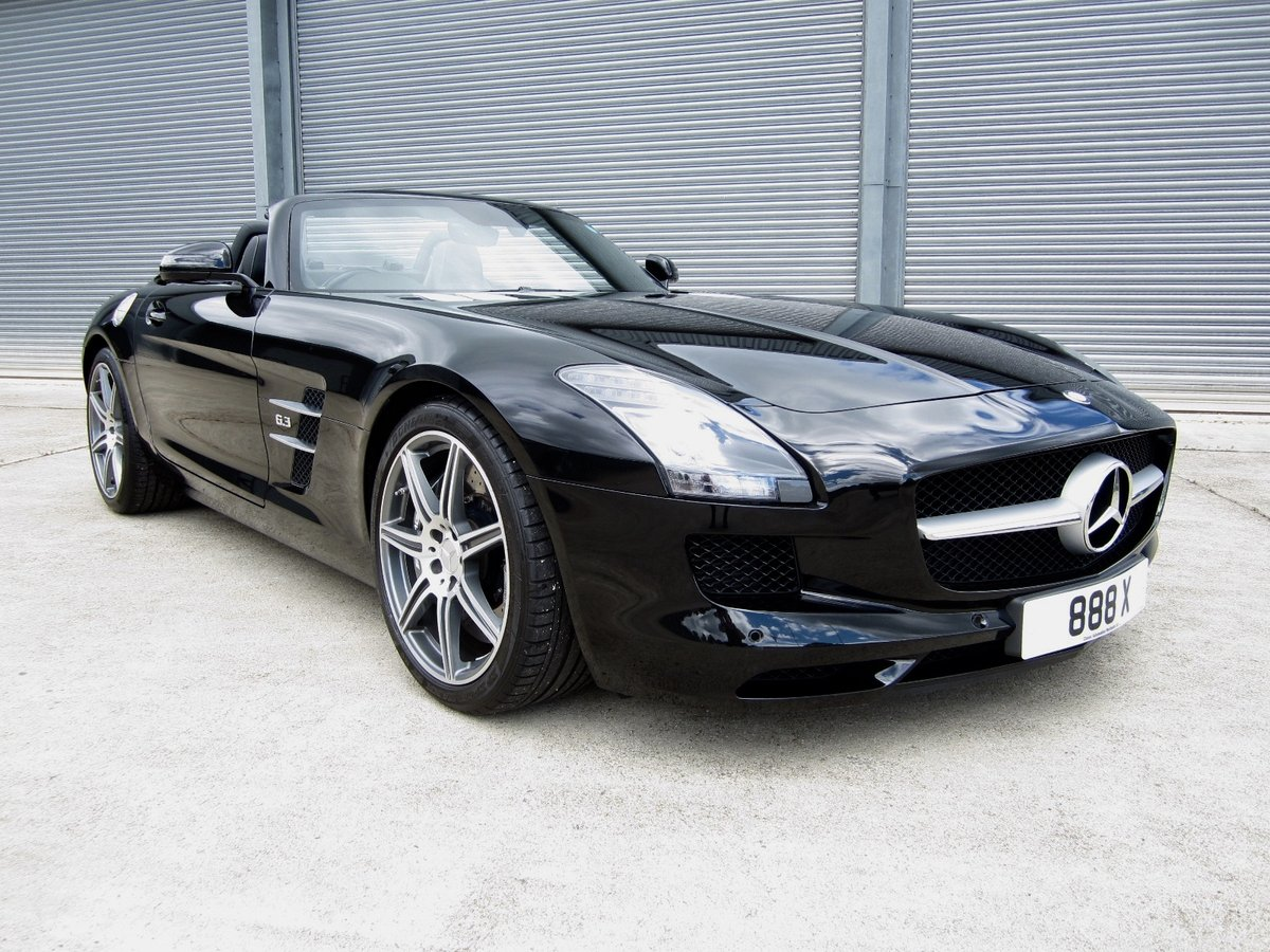 20121 Mercedes SLS AMG Roadster For Sale (picture 1 of 6)
