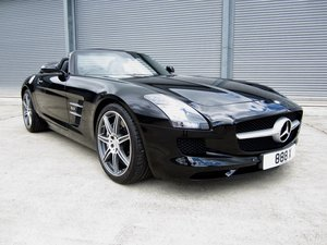 20121 Mercedes SLS AMG Roadster For Sale