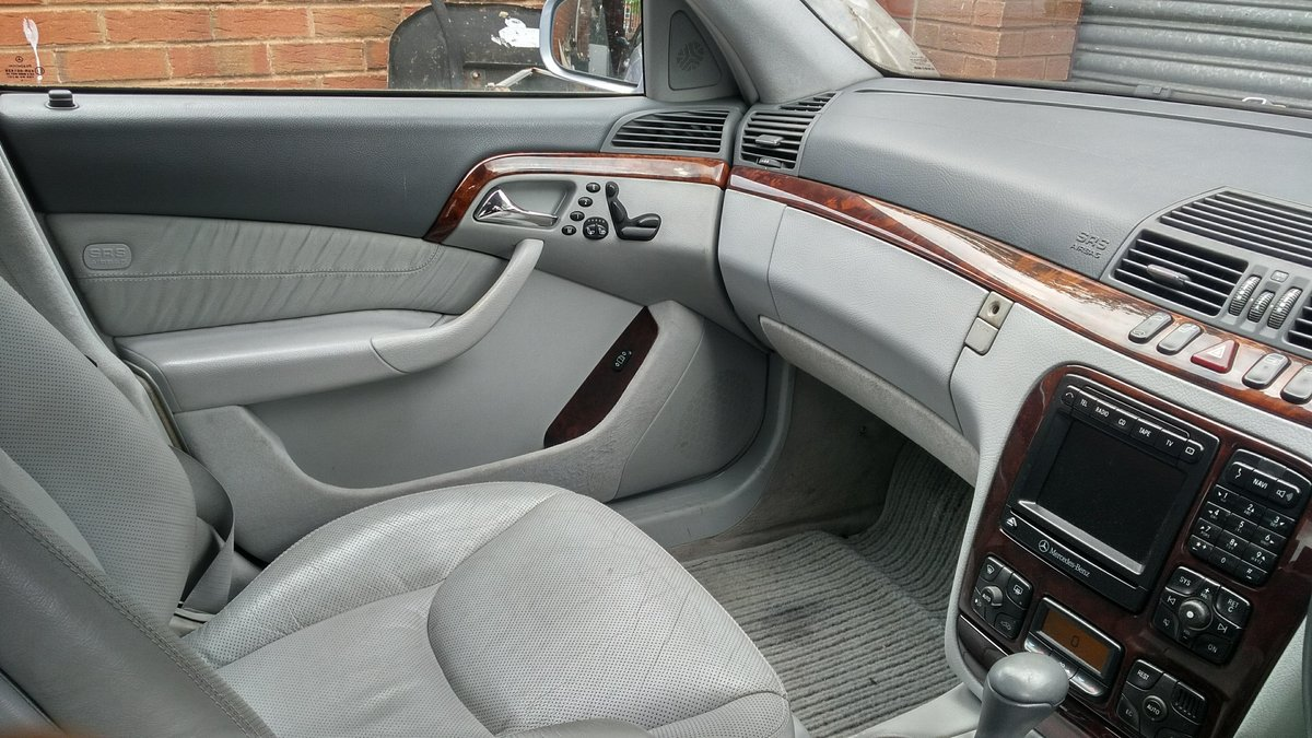 2000 Mercedes S430 Auto Longwheel Base SOLD (picture 2 of 6)