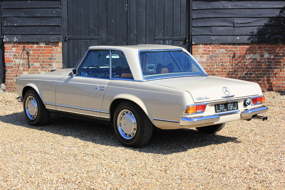 1970 Mercedes Pagoda 280SL Automatic  For Sale (picture 2 of 5)