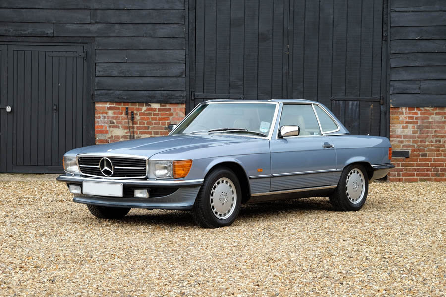 1989 Mercedes 300SL - original 12,000 miles from new For Sale (picture 1 of 6)