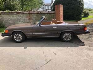 1976 Mercedes 450 SL Convertible/Hard Top  For Sale