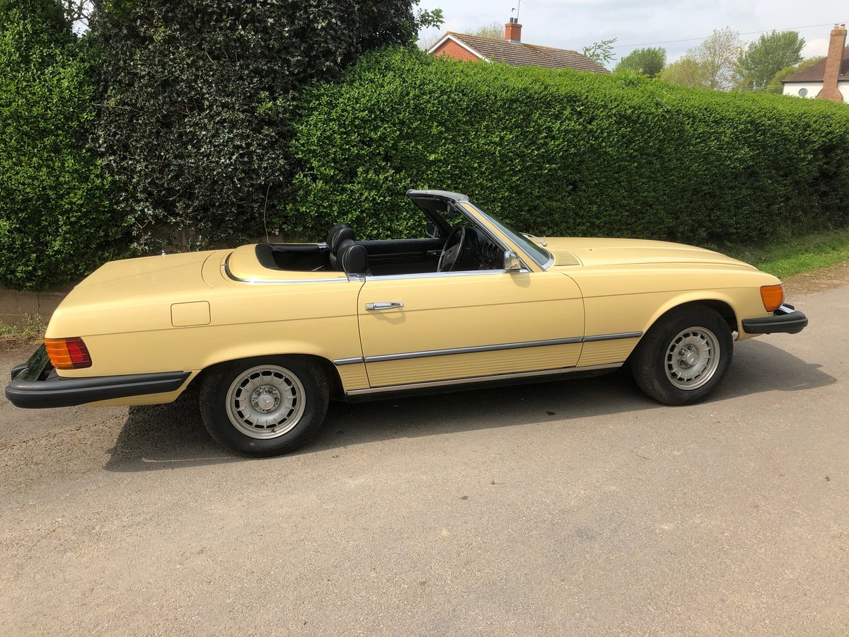 1976 Mercedes 450 SL Convertible/Hard Top  For Sale (picture 1 of 6)