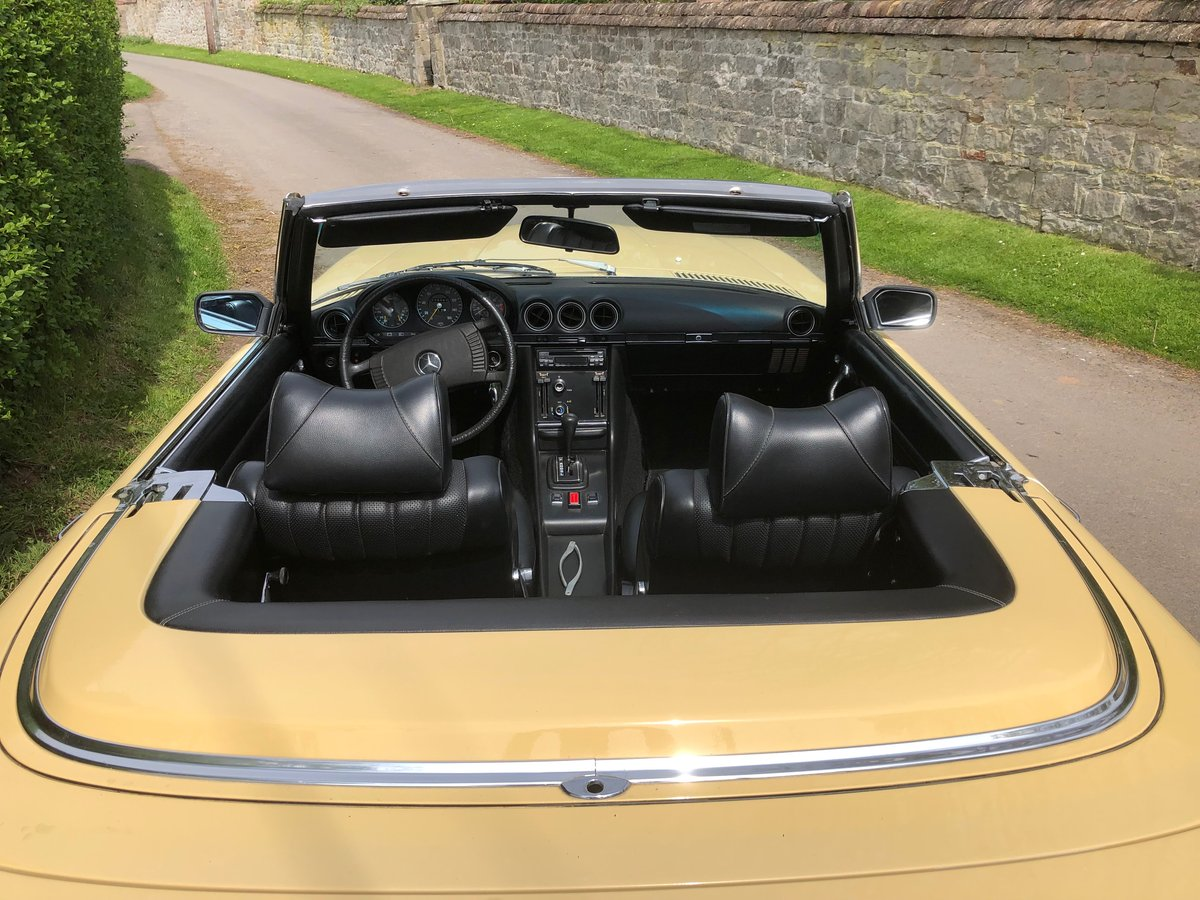 1976 Mercedes 450 SL Convertible/Hard Top  For Sale (picture 2 of 6)