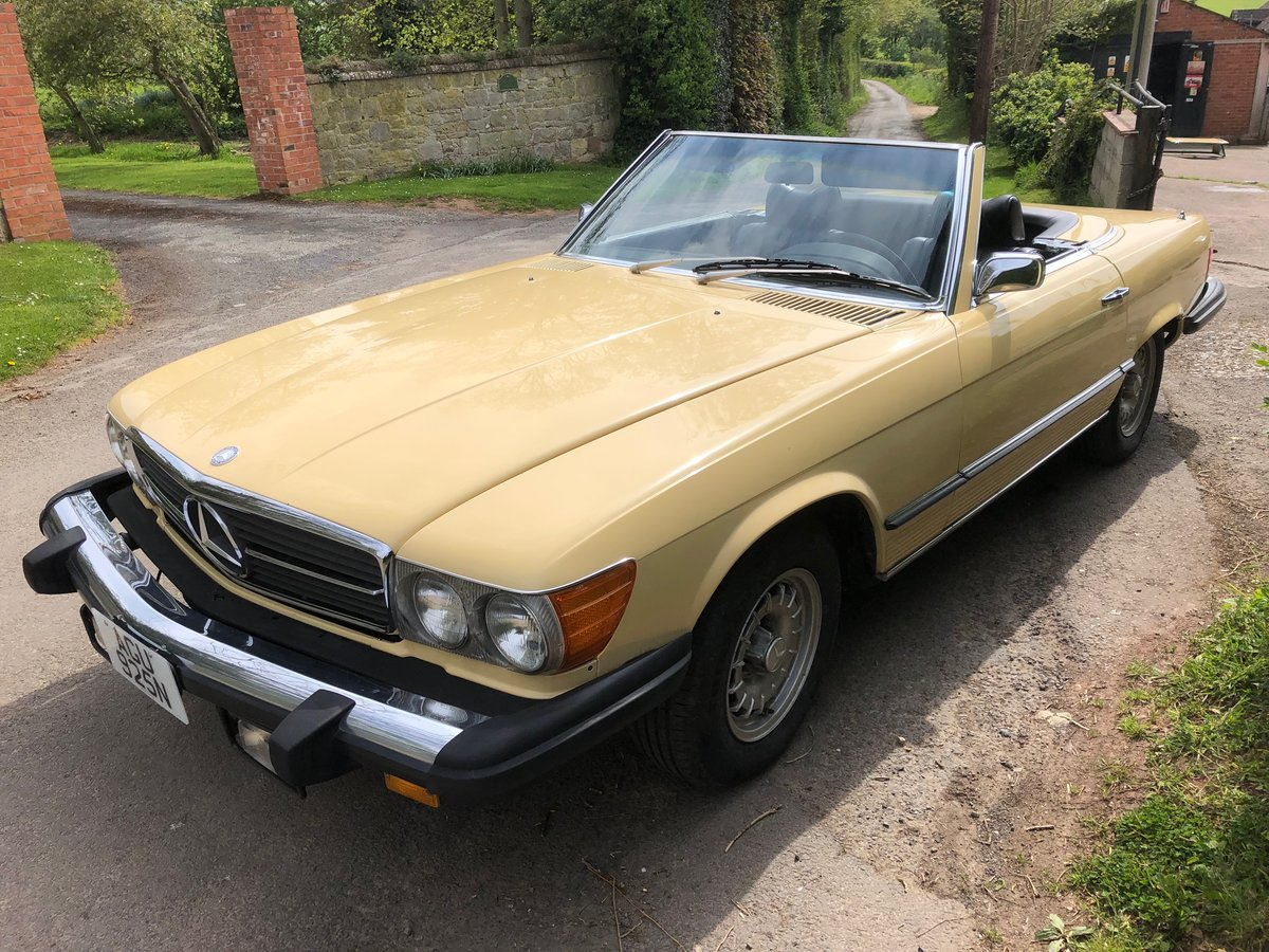 1976 Mercedes 450 SL Convertible/Hard Top  For Sale (picture 3 of 6)