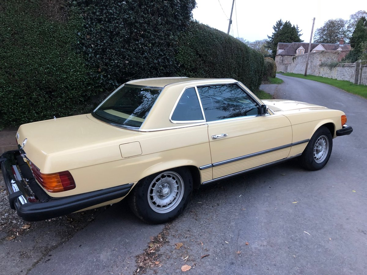1976 Mercedes 450 SL Convertible/Hard Top  For Sale (picture 4 of 6)