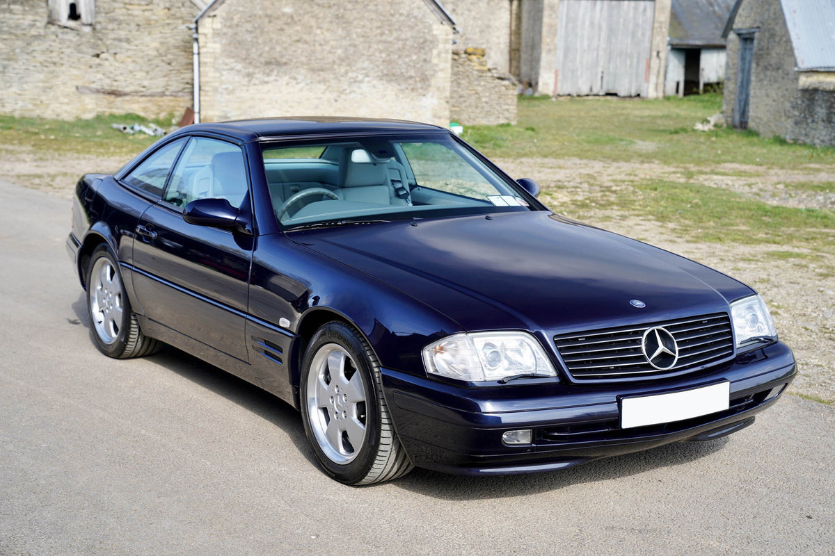 2001 Mercedes SL320 For Sale (picture 1 of 6)