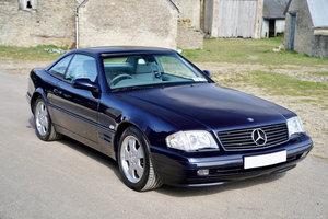 2001 Mercedes SL320
