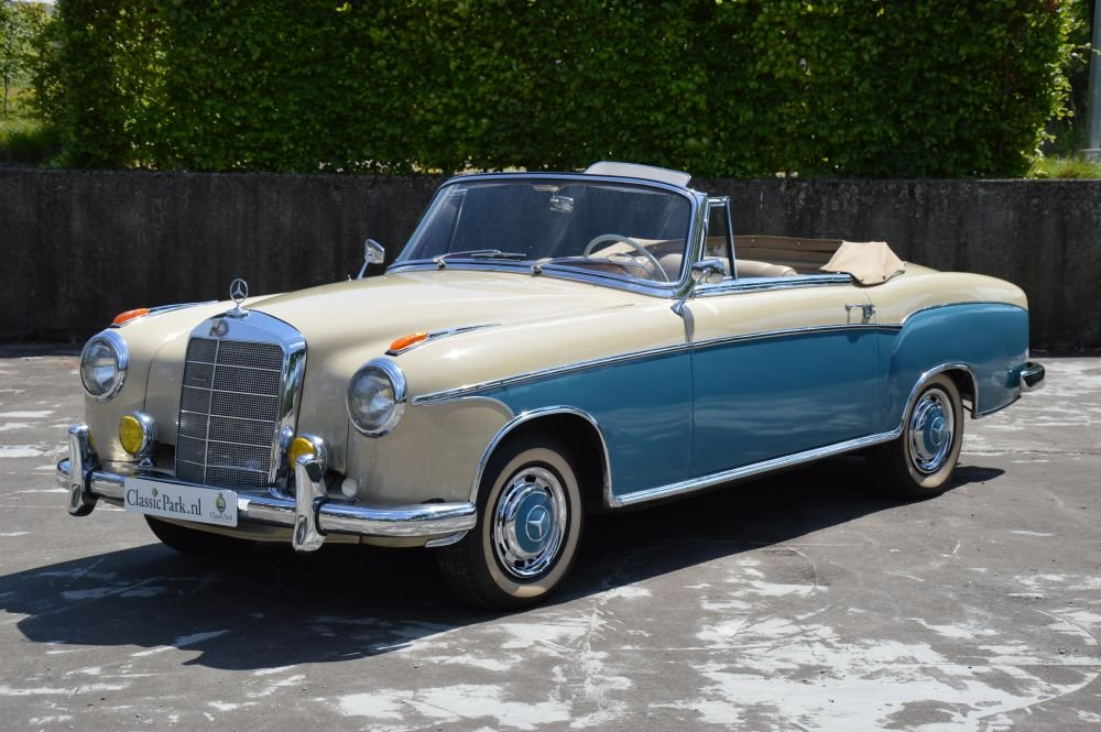 (1023) Mercedes-Benz 220 S Cabriolet - 1958 For Sale (picture 1 of 6)