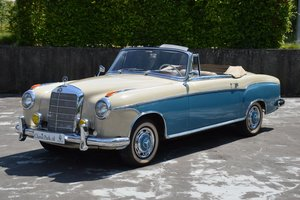 (1023) Mercedes-Benz 220 S Cabriolet - 1958 For Sale