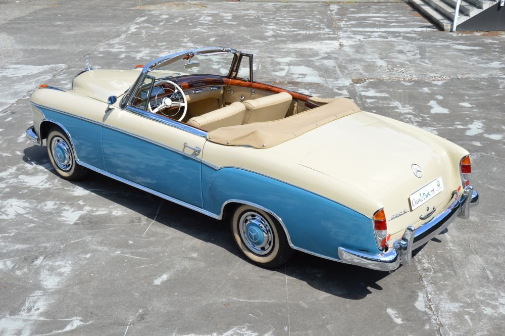 (1023) Mercedes-Benz 220 S Cabriolet - 1958 For Sale (picture 2 of 6)