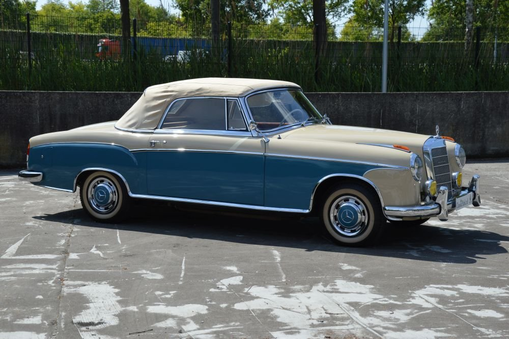(1023) Mercedes-Benz 220 S Cabriolet - 1958 For Sale (picture 3 of 6)