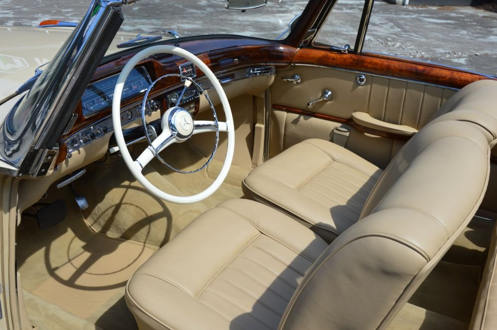 (1023) Mercedes-Benz 220 S Cabriolet - 1958 For Sale (picture 4 of 6)