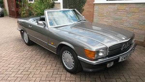 1986 MERCEDES BENZ SL500 (R107) For Sale