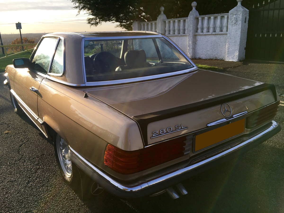 1980 Mercedes Benz 280 SL 2dr For Sale (picture 3 of 6)