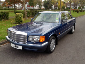1991 Mercedes 300SE J reg 4dr For Sale