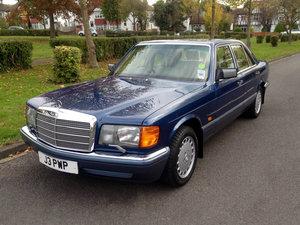 1991 Mercedes 300SE J reg 4dr