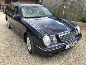 2002 RARE IN THIS CONDITION E320 CDI CLASSIC ESTATE CAR NEW MOT For Sale