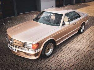 1982 Mercedes SEC 500 AMG