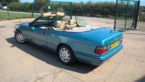 Mercedes E220 W124 automatic 1994 convertible  For Sale