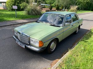 1979 Mercedes Benz W123 Series 300D LHD  Left hand driv