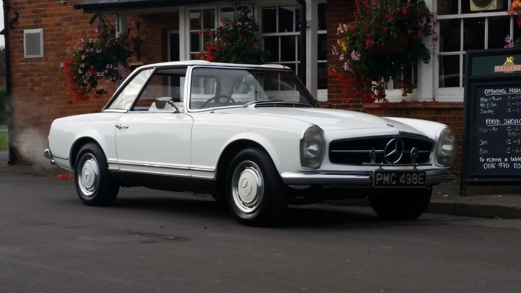 1967 Mercedes 250 SL For Sale (picture 6 of 6)