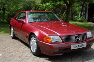 1994 Mercedes SL500.  A cherished example with 72k miles and FSH. For Sale