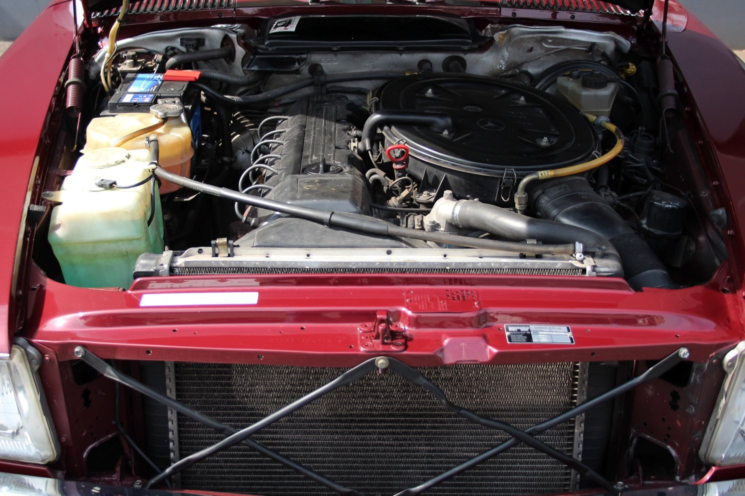 1986 Mercedes-Benz 300 SL LHD For Sale (picture 4 of 6)
