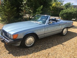 1986 mercedes 560sl two tops uk registered For Sale