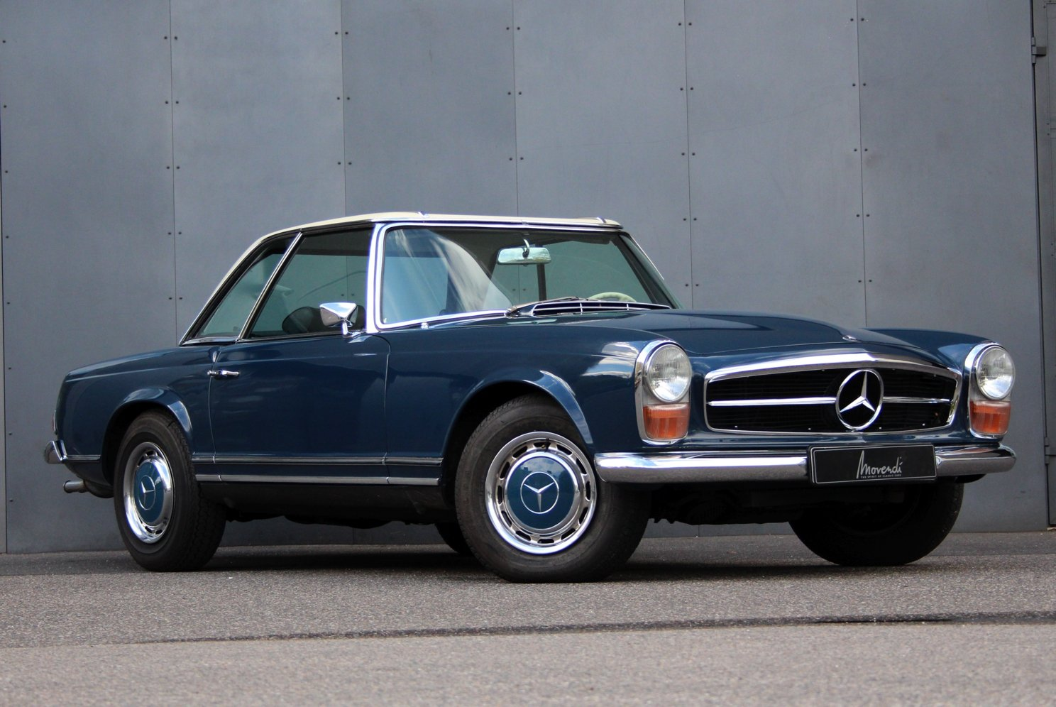 1963 Mercedes-Benz 280 SL Pagoda LHD (Automatic transmission) For Sale (picture 1 of 6)