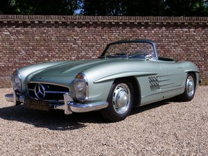 1960 Mercedes Benz 300SL Roadster fully restored condition