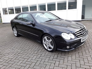 Mercedes clk 320 cdi sport 3.0 automatic 2009. For Sale