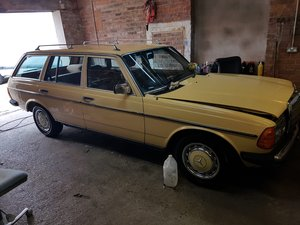 1984 mercedes 240 diesel estete manual