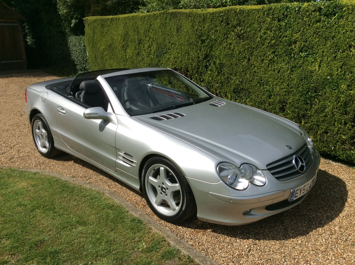 2002 Mercedes SL 500, Just 2 Private Owners, Superb! SOLD (picture 1 of 6)