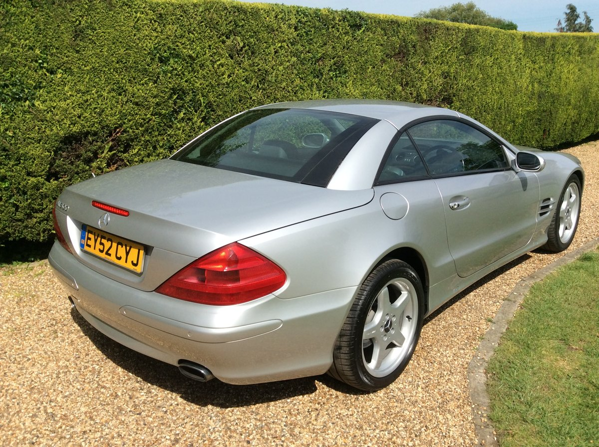 2002 Mercedes SL 500, Just 2 Private Owners, Superb! SOLD (picture 2 of 6)