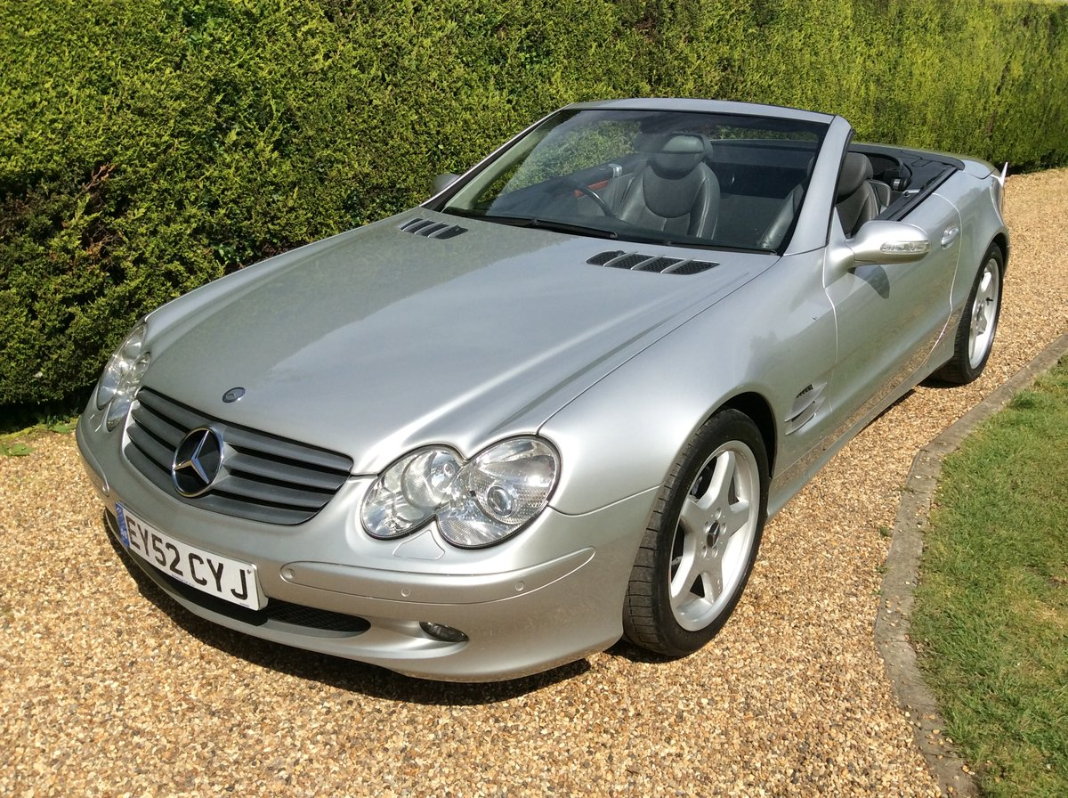 2002 Mercedes SL 500, Just 2 Private Owners, Superb! SOLD (picture 3 of 6)